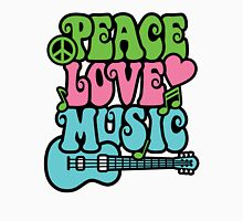 Peace Love Music Unisex T-Shirt