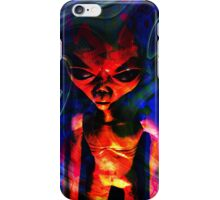 Alien Visitor iPhone Case/Skin