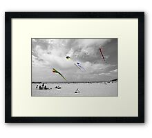 Spring Winds Framed Print
