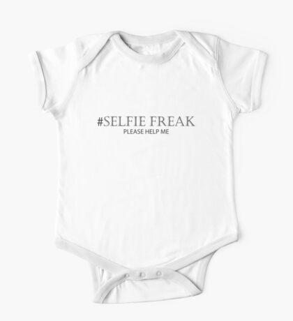 Selfie Freak Please Help Me One Piece - Short Sleeve