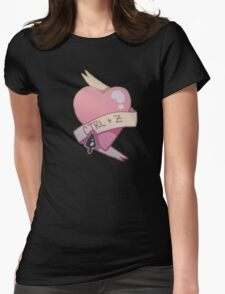 Photoshop Valentine (2)  Womens Fitted T-Shirt