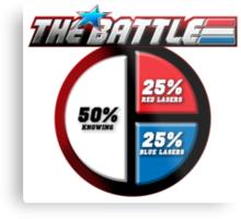 The Battle Metal Print