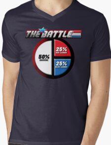 The Battle Mens V-Neck T-Shirt