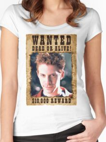 Buffy Oz Seth Green Wanted 2 Women's Fitted Scoop T-Shirt