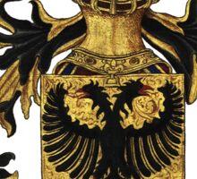 Emperor of Germany Coat of Arms - Livro do Armeiro-Mor Sticker