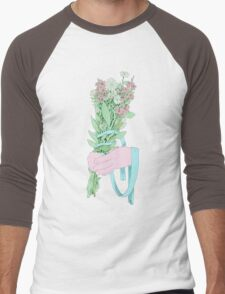 Bouquet (notext) Men's Baseball ¾ T-Shirt