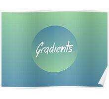 Gradients Poster