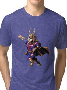 Chibi All Might Tri-blend T-Shirt