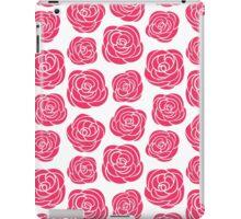 Pink roses seamless pattern iPad Case/Skin