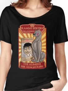 Ramsay bolton, dog food Women's Relaxed Fit T-Shirt