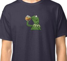 Kermit Tea None of My Business Classic T-Shirt