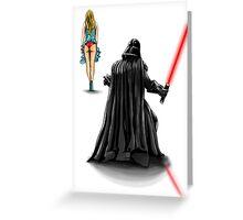 Vader Peak Greeting Card