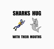 Sharks Hug With Mouth Unisex T-Shirt