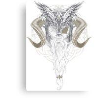 Asgardian Allfather Canvas Print