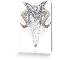 Asgardian Allfather Greeting Card