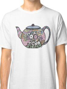 Tea Pot Head Classic T-Shirt