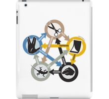 Rock, Paper, Scissors, Lizard, Spock iPad Case/Skin
