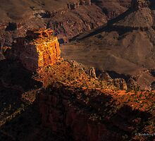 South Rim Sunrise-Detail by George Trimmer