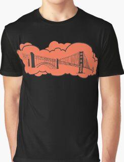 Golden Gate Bridge San Francisco Graphic T-Shirt