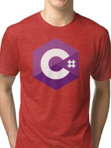 C# Tri-blend T-Shirt