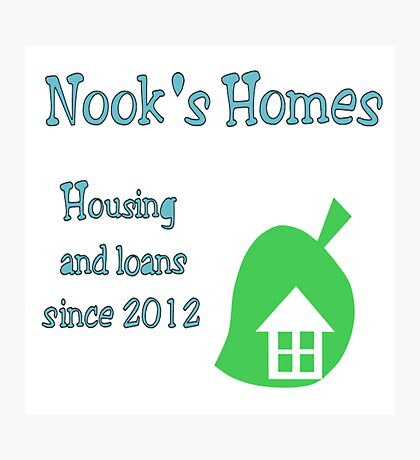 Nook's Homes Logo Photographic Print