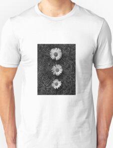 Black and white Dasies  T-Shirt
