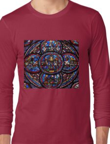 Chartres - Miracle de Notre Dame Long Sleeve T-Shirt