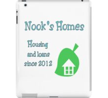 Nook's Homes Logo iPad Case/Skin