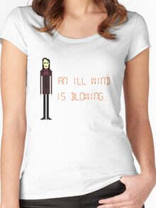 The IT Crowd – An Ill Wind is Blowing Women's Fitted Scoop T-Shirt