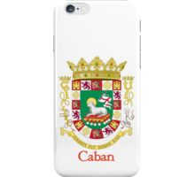 Caban Shield of Puerto Rico iPhone Case/Skin