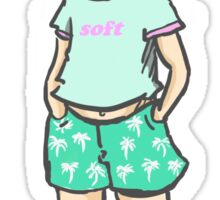 Summer Soft Sherlock Sticker