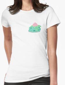 Sleeping Ivysaur Womens Fitted T-Shirt