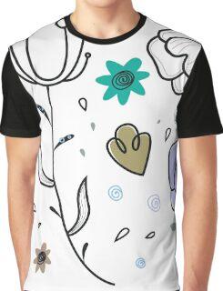 """Floral Metamorphosis"" - Just Original Artistic Piece! Graphic T-Shirt"