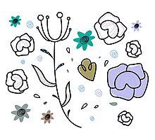 """Floral Metamorphosis"" - Just Original Artistic Piece! Photographic Print"