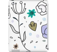 """Floral Metamorphosis"" - Just Original Artistic Piece! iPad Case/Skin"