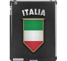 Italy Pennant with high quality leather look iPad Case/Skin