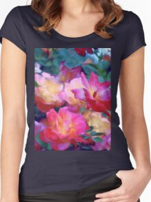 Rose 371 Women's Fitted Scoop T-Shirt