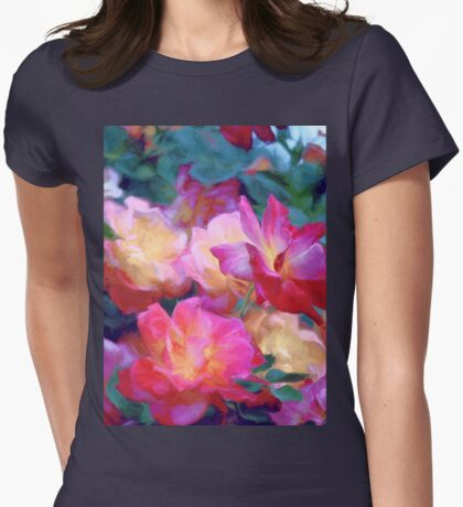 Rose 371 Womens Fitted T-Shirt