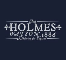 Elect Holmes Watson '86 by heliconista