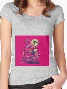 Hotline Miami Jacket  Women's Fitted Scoop T-Shirt