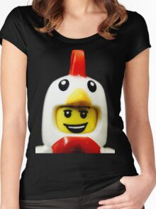 The Chicken Suit Guy Women's Fitted Scoop T-Shirt