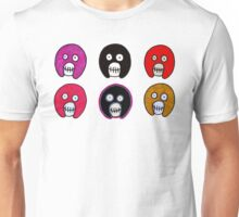 Mighty Boosh skulls Unisex T-Shirt