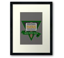 By Odin's Beard... the Best Mead in the Nine Realms. Framed Print