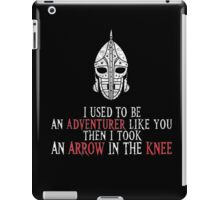Skyrim - Adventurer Like You iPad Case/Skin