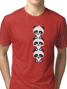 3 Pandas Tri-blend T-Shirt