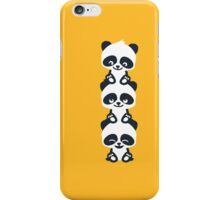 3 Pandas iPhone Case/Skin