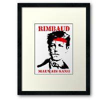 Bad Blood Framed Print