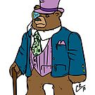 Dapper Bear by peabody00