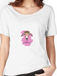 Britney Spears BOMT 8-bit in pink Women's Relaxed Fit T-Shirt