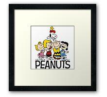 Snoopy Peanuts Framed Print